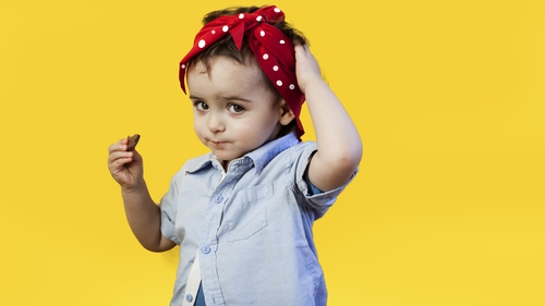 """""""Children learn the social meanings of gender from adults and the world around them"""". Photo Getty Images"""