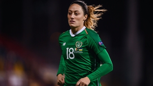 Megan Campbell is back in the Ireland squad