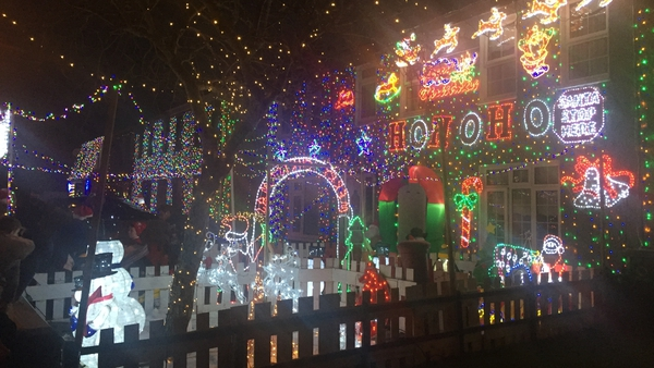 Eight homes at Cappagh Green in Finglas are home to 20,000 festive lights