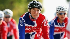 2008 Olympic road race champion Nicole Cooke