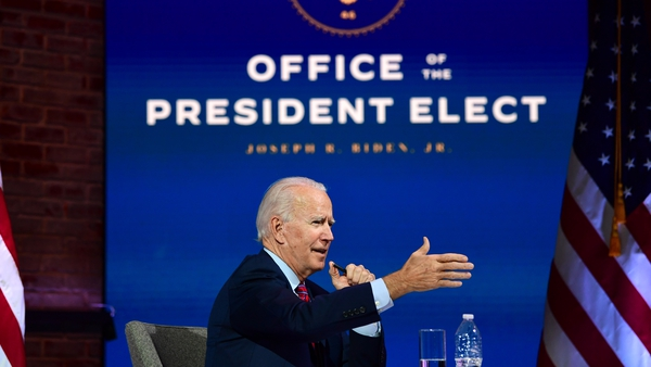Joe Biden has named Irish-American Jake Sullivan as his national security adviser