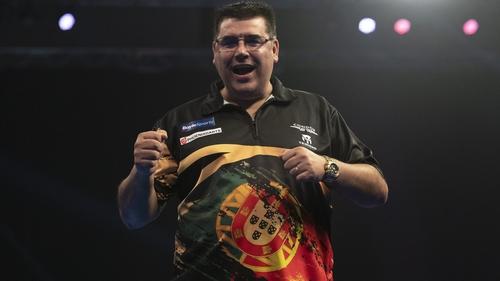 Former carpenter Jose De Sousa is on the brink of Grand Slam glory