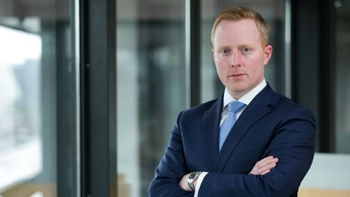 Ulster Bank's Managing Director of Personal Banking Ciarán Coyle