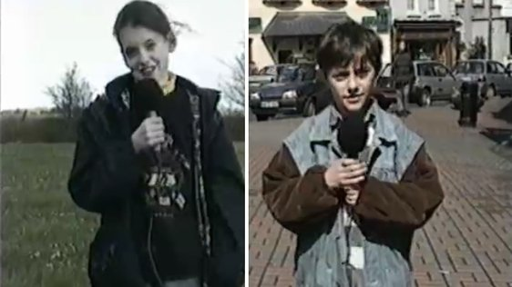 Reporters Cheryl and James in 1996.