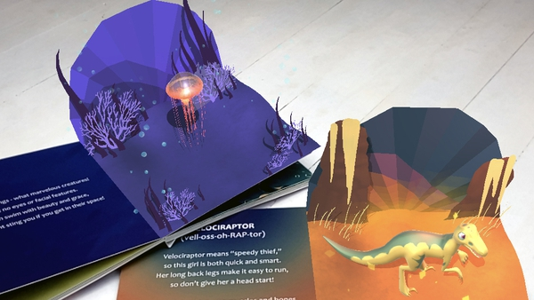 HoloToyz app brings their books to life