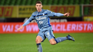Robin Gosens has scored one goal in seven appearances for Atalanta in all competitions this season