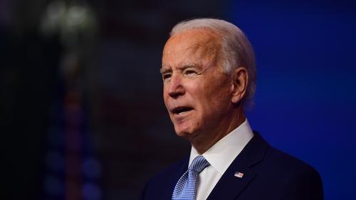 Uachtarán tofa Mheiriceá, Joe Biden