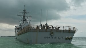 The USS John S McCain has been operating for several days in the Sea of Japan