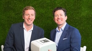 Kieran Daly Co Founder and CTO, and Jim Joyce Co Founder and CEO of HealthBeacon