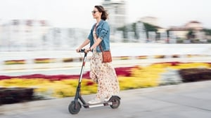 """Travelling by electric scooter means you are no longer dragging a tonne of metal with you every time you head out to pick up the milk"""