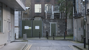 The body of one of the men was discovered near Leinster House overnight (Pic: RollingNews.ie)