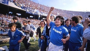 The Argentine helped Napoli to win their first Serie A title in 1987