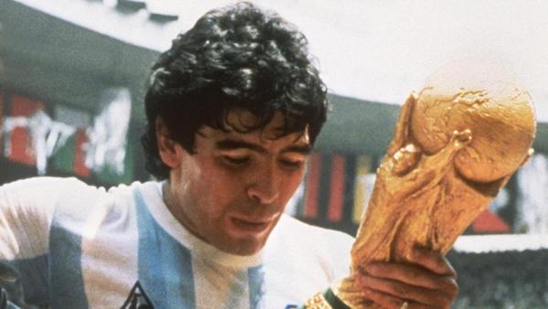 Diego Maradona never won the Copa America as a player