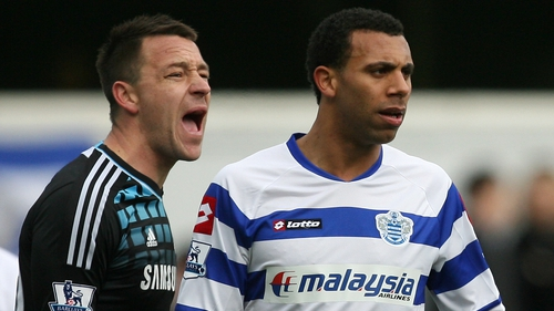 John Terry (L) was accused of racially abusing Anton Ferdinand