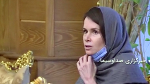 Images of a freed Kylie Moore-Gilbert emerged on Iranian state television