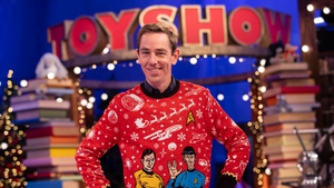 Ryan Tubridy on the 2020 Toy Show set