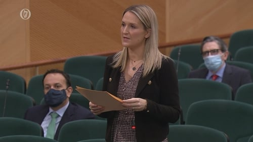 Helen McEntee said she used her own judgement when making the decision