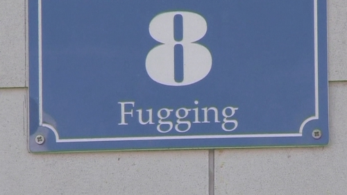 The village will be named Fugging from 1 January