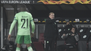 Neil Lennon reacts from the sidelines