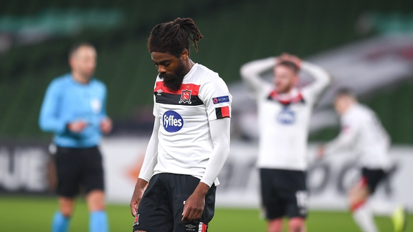 Dundalk remain without a point in the Europa League group phase