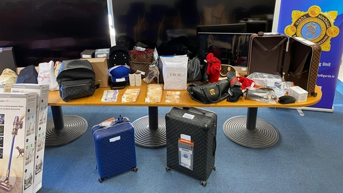 During the search over 142 high-end items, believed to be stolen property, were recovered