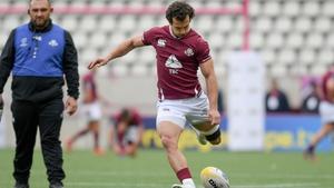 Soso Matiashvili returns to the Georgia team at full-back