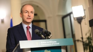 Micheál Martintold a party meeting that Covid-19 vaccines will be administered for free to people across the country