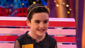 Saoírse Ruane on last year's Late Late Toy Show