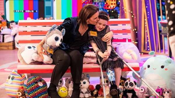 Nine-year-old Saoírse from Galway was the inspiration behind the RTÉ Toy Show Appeal, winning the hearts of the nation on the night