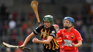 Denise Gaule hit 0-07 against Cork in today's All-Ireland camogie semi-final