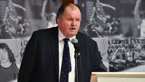 Basketball Ireland CEO Bernard O'Byrne