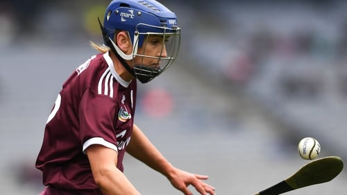 Niamh Kilkenny was one of the Galway scorers