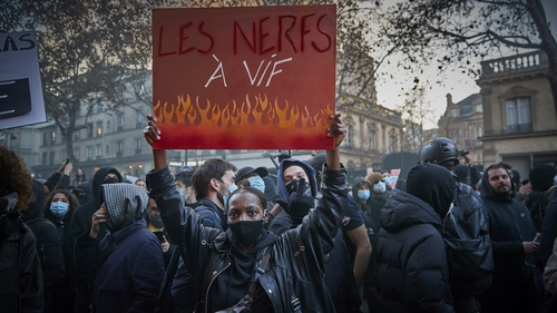 Some 46,000 people marched in Paris and 133,000 in total nationwide