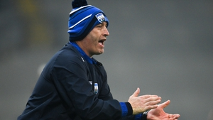 Liam Cahill urges on his players against Kilkenny