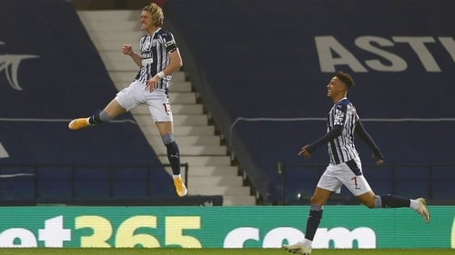 Conor Gallagher helped West Bromwich Albion to their first league win of the season