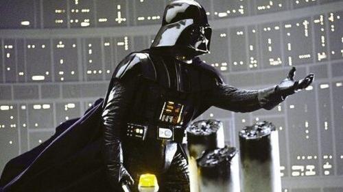 Actor David Prowse as Darth Vader