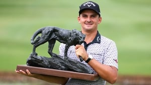 Christiaan Bezuidenhout won the Alfred Dunhill Championship by four strokes