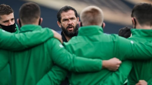 Andy Farrell: 'I didn't think we had conviction with our carry'