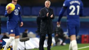 Jose Mourinho was back at the Bridge with his Tottenham side