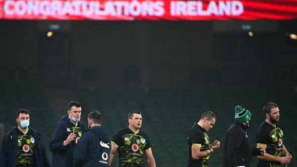 Ireland face Scotland next Saturday