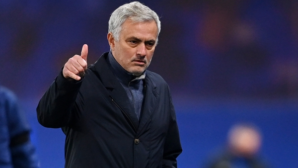 The Special One was keen to play down his team's titel credentials.