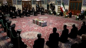 The funeral of Mohsen Fakhrizadeh has taken place in Iran