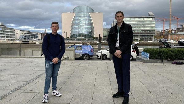 Paul Fay and Nathan McDonald are participants in the Career Leap programme