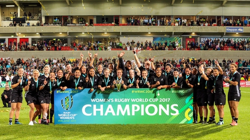 The Women's Rugby World Cup will be expanded in size from 2025