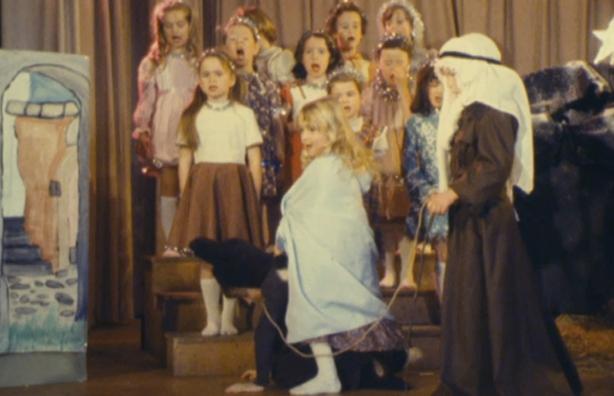 Nativity play, 1980