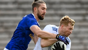 Killian Clarke (left) is one of the best players in Cavan, says Thomas Galligan