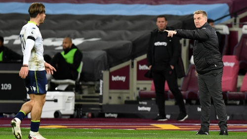Dean Smith was left fuming with a late VAR decision against West Ham