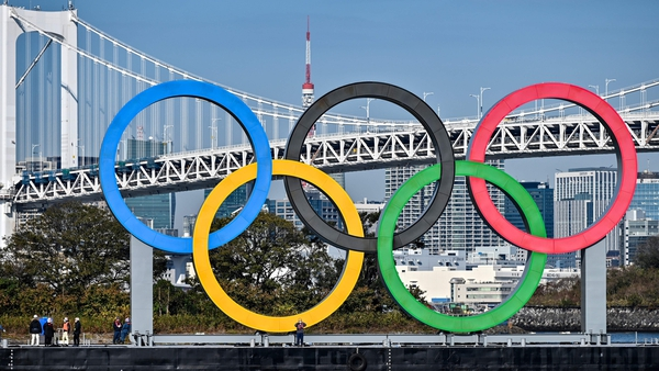 The delayed Tokyo Games are due to begin in July