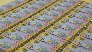 The Reserve Bank of Australia left its cash rate and the three-year government bond yield target at 0.1%