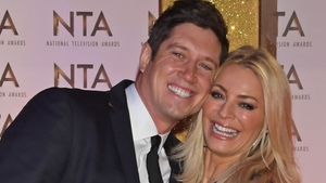 Vernon Kay and Tess Daly pictured at the National Television Awards earlier this year